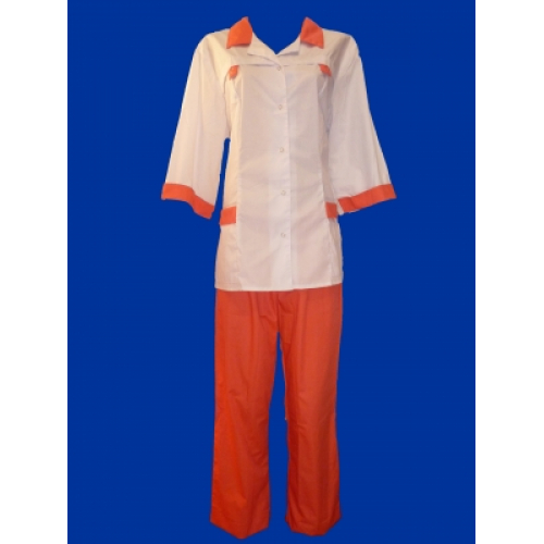 Медицинский костюм Василиса (коралл)