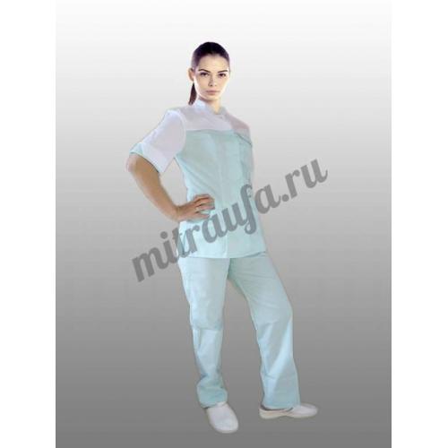 Медицинский костюм Марго (лазурь)