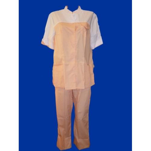 Медицинский костюм Марго (персик)