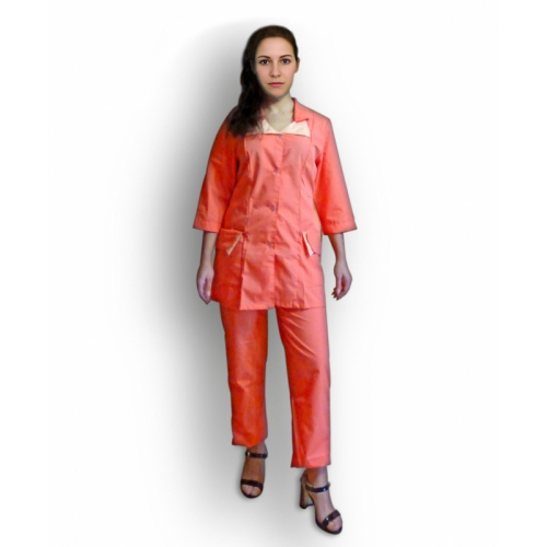 Медицинский костюм М-187 (коралл)