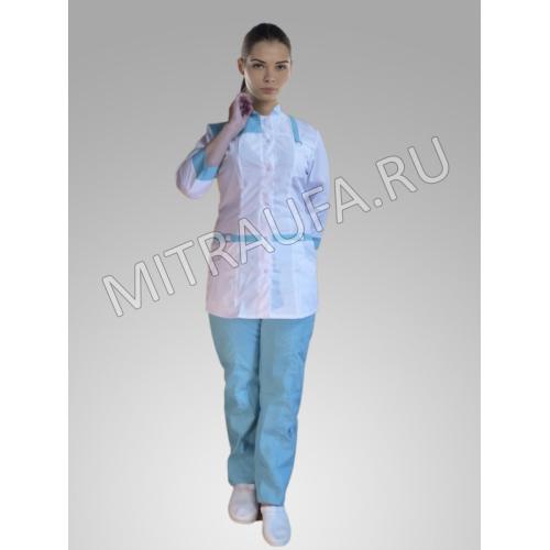 Медицинский костюм Светлана (коралл)