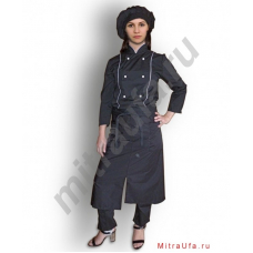 Фартук официанта чёрный