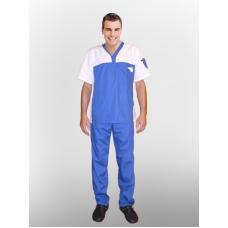 Костюм медицинский Дима (синий)