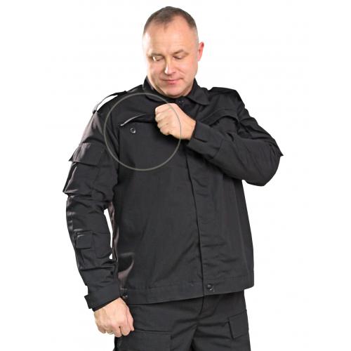 Костюм Спецназ тк.Рип-стоп цв.Чёрный