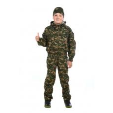 Маскхалат детский (трёхцветка)