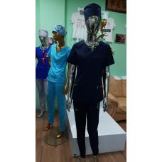 Костюм медицинский Ника (тёмно синий)
