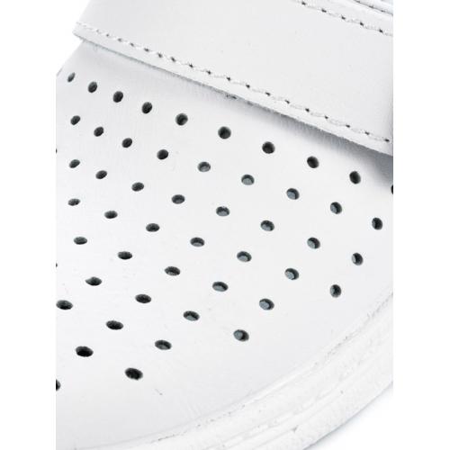 Сабо 04-04 Унисекс белые (натуральная кожа)