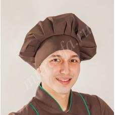 Головной убор для поваров шоколад (ромашка)